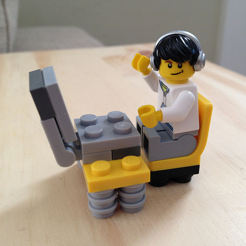 A Lego version of me
